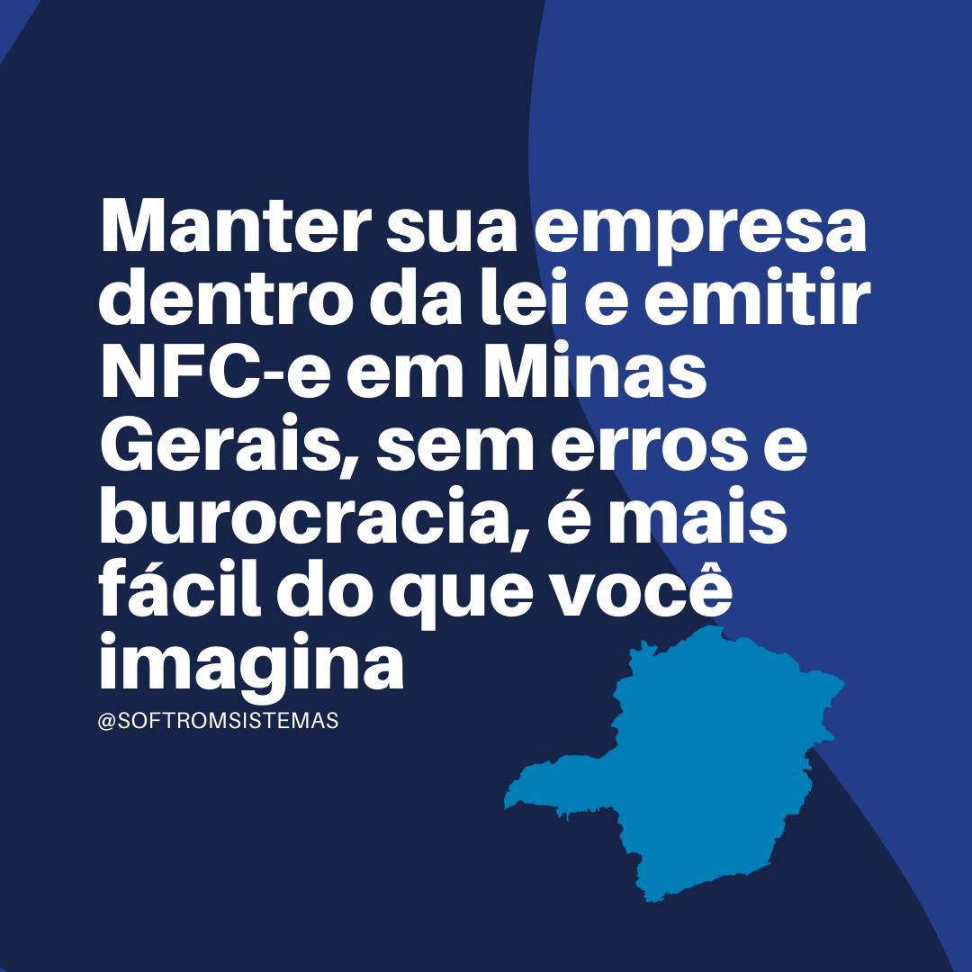 NFC-e em Minas Gerais